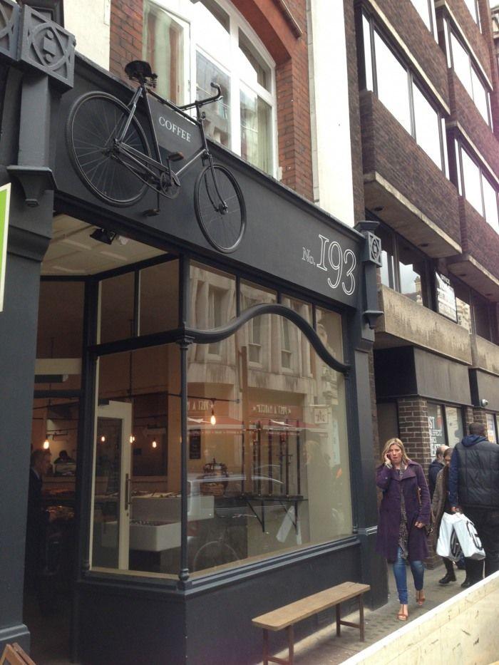 Tap Coffee shop, 193 Wardour Street, London, UK