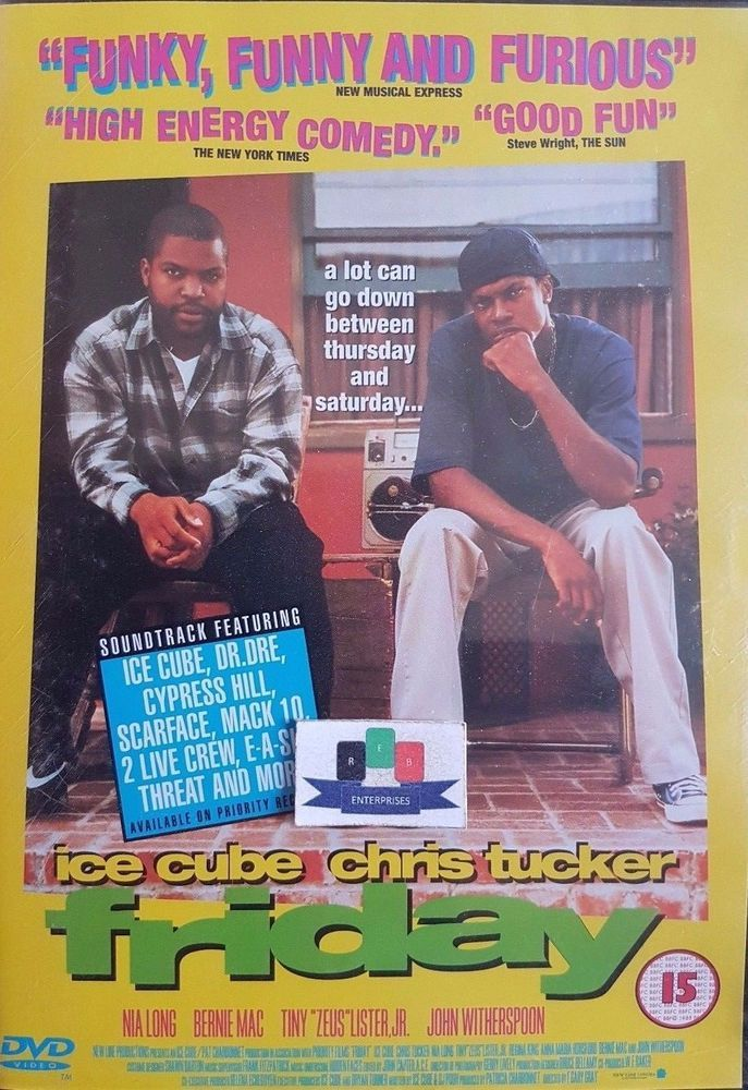 Friday (Ice Cube) DVD 2000 New And Sealed