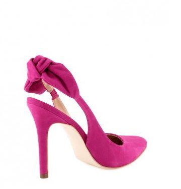 chaussures fushia noeud mariee - Chaussure Fushia Mariage