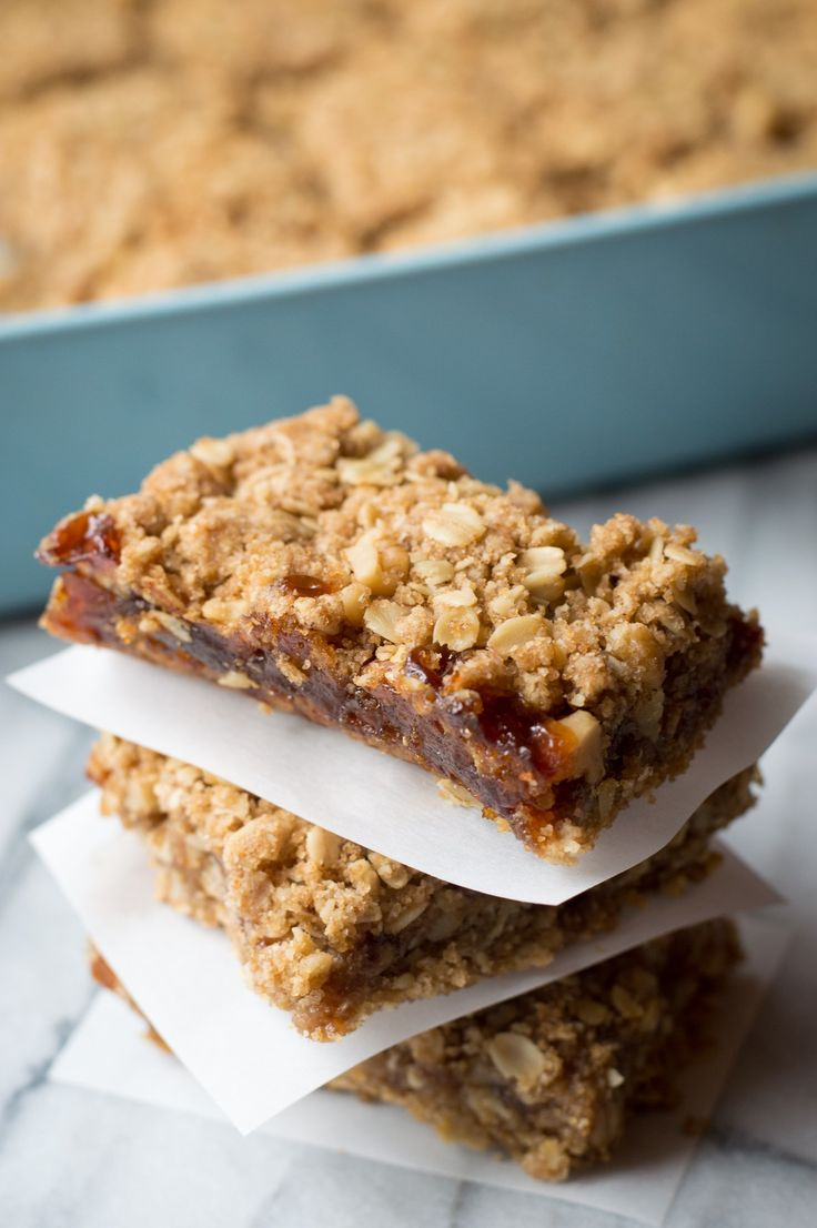 These granola bars are the most decadent thing to emerge from my kitchen in quite a while, and let me tell you, they're worth every rich, buttery, jam-filled bite. They're the perfect hiking snack, bake-sale treat, or homey dessert (à la mode? Don't mind if I do!). Or have one for breakfast, along with a strong mug of coffee and a side of self-satisfied bliss. Go on, enjoy one of these by yourself before they leave the kitchen — the recipe makes plenty, so you'll still have some to share.