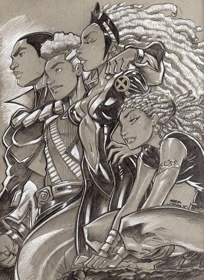 """Black Panther Family"", by Marcus Williams."