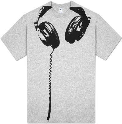 Fones de Ouvido Camiseta na AllPosters.com.br