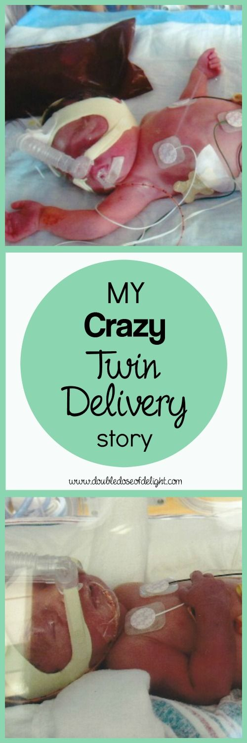 My Crazy Twin Delivery Story - Double Dose of Delight. My worst delivery fears were realized when I had to have both natural AND c-section deliveries!