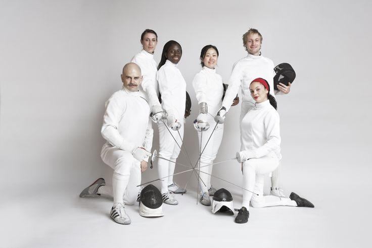 Members of London Fencing Club http://www.londonfencingclub.co.uk