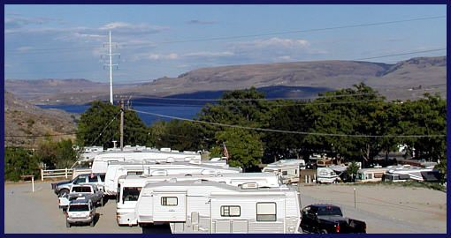 Grand Coulee Rv Park At Grand Coulee Dam Washington