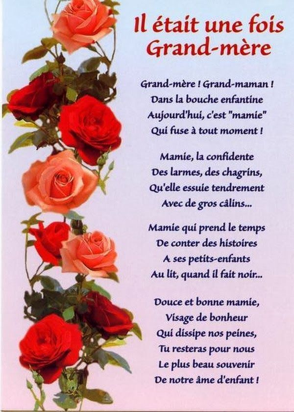 Poeme Pour Le Deces D Une Grand Mere : poeme, deces, grand, Texte, Deces, Grand
