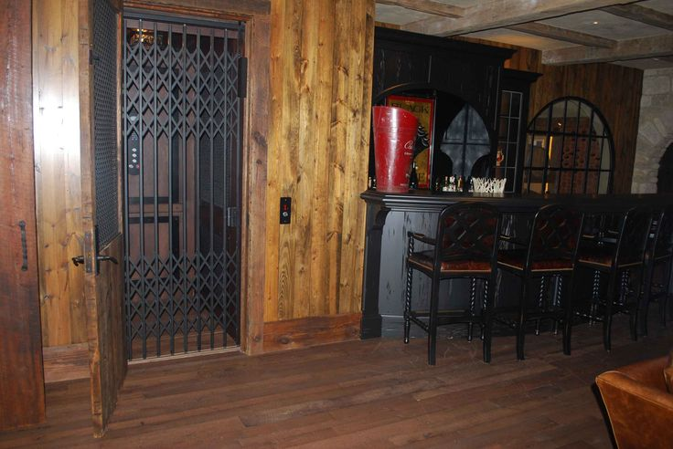 Custom residential elevator installed by american for Custom home elevator