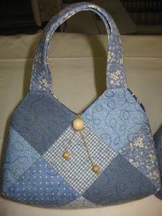 Lapp Corte: Ahora coser una bolsa de cuadrados