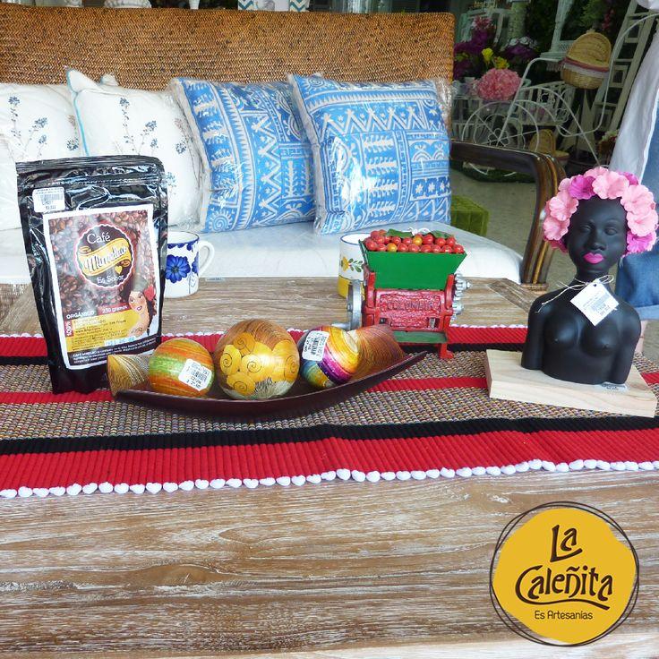 Añade a la decoración de tu casa todo el exotismo de nuestra cultura colombiana y consigue crear ambientes elegantes y sofisticados. Encuentra un amplio surtido en nuestra tienda. 💖🙋🏼🎀 #LaCaleñita #ArtesaniasLaCaleñita #ArtesaniasDeColombia