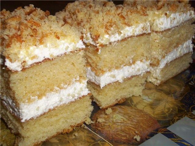 Кухен со сгущёнкой : Торты, пирожные