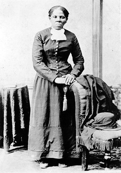 """Harriet Tubman in 1870. Tubman helped slaves escape by using the """"underground railroad"""""""