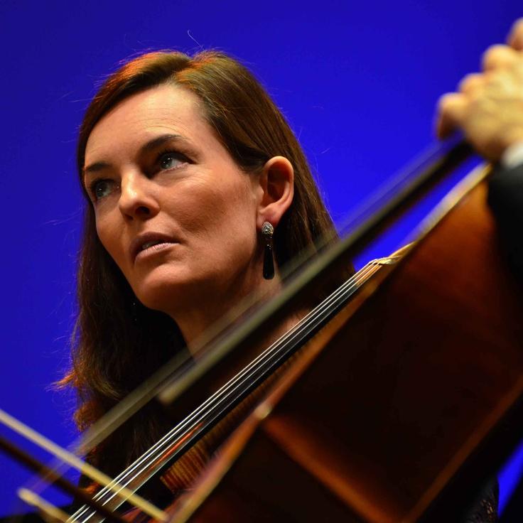 Blue Cello Player