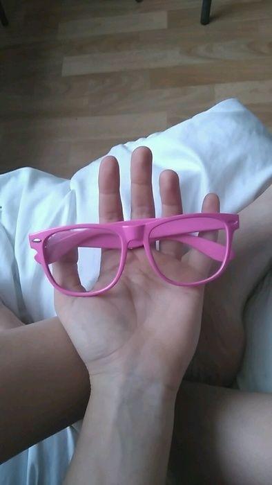 Różowe okulary zerówki - vinted.pl