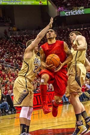 Louisville basketball sends Dieng, Siva out with a bang with a whipping on Notre Dame 73-57 | Louisville.com