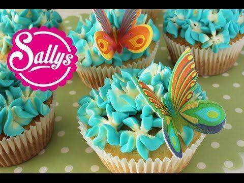 Sallys Blog - Zitronen-Cupcakes mit Hyazinthen-Dekoration