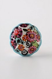 flowery knobs
