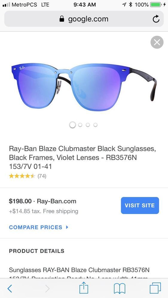 ray ban blaze Blue Glasses in 2018   Unisex Accessories   Pinterest    Accessories, Glasses and Fashion outfits f62684836164
