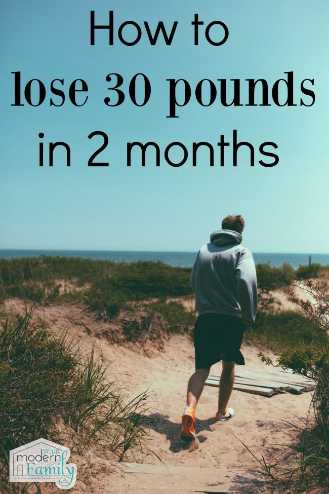 how to lose 30 pounds in 2 months