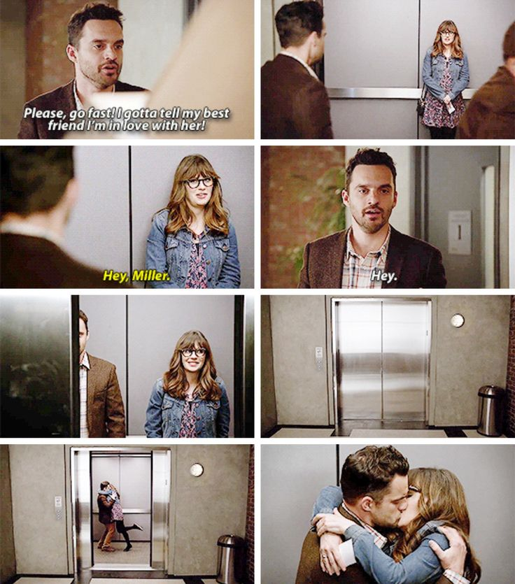 """Hey, Miller"" - Jess and Nick finally together #NewGirl"