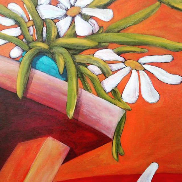 FLOWERS. ARTURO MIRANDA #pintor #paiting #artwork #painter #art #oiloncanvas #artgallery #artcollective #artgallery #artist #arturomiranda #flowers #margaritas #margarita  #canvaspainting #canvas #finearts #figurativeart #nature_perfection #artcollective2016 #artechileno #ibizaartist #painter #paisaje #pinturachilena #artworks_artist  #artoftheday  #creative #creatives