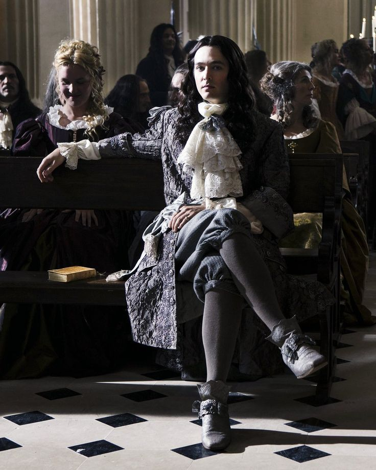 The amazing Alexander Vlahos as the incredible Monsieur Philippe Duc D'Orleans in the Hit canal+ series Versailles