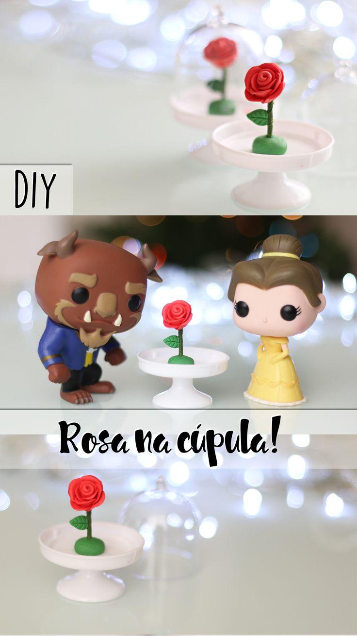 DIY: Como fazer a rosa de A Bela e a Fera e O pequeno príncipe