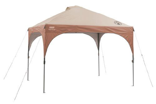 Coleman Instant Canopy with LED Lighting System - http://www.campingandsleepingbags.com/coleman-instant-canopy-with-led-lighting-system/