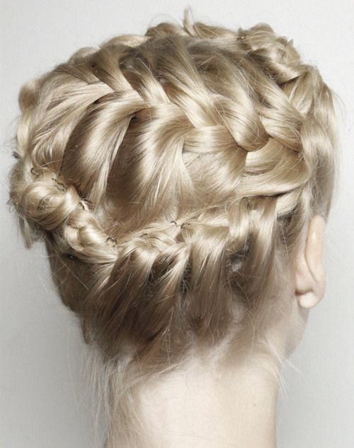 This hair is GORGEOUS!: Braids Hairstyles, Braids Hair Style, Diy Hair, For Kids, Hair Styles, Braids Updo, Style Hair, Girls Hairstyles, Blondes Braids