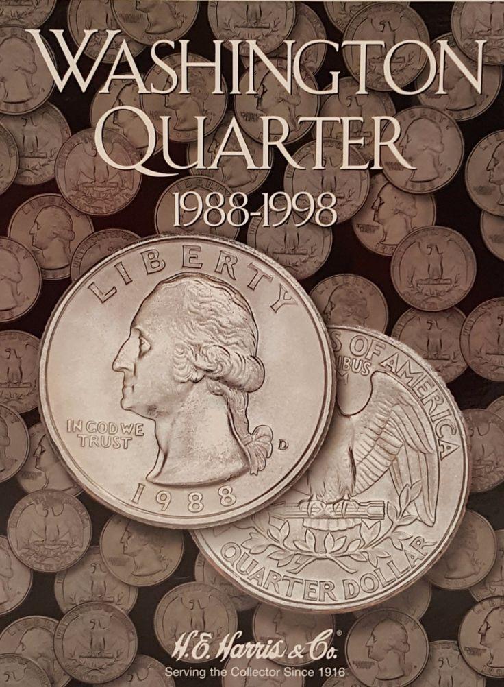 Washington Quarter 1988-1998 Coin Collecting Album