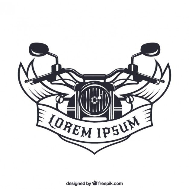 Free vector Motorcycle badge #8947