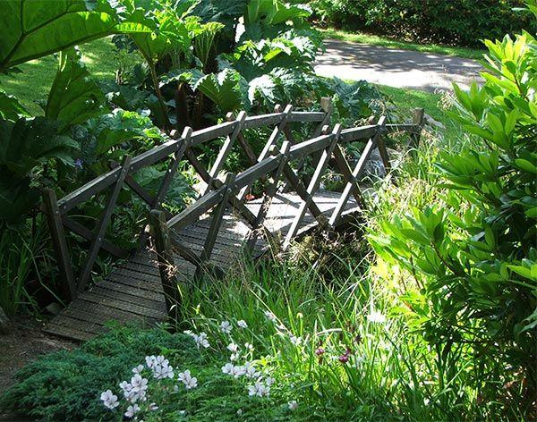 Garden Bridge Design And Construction WoodWorking