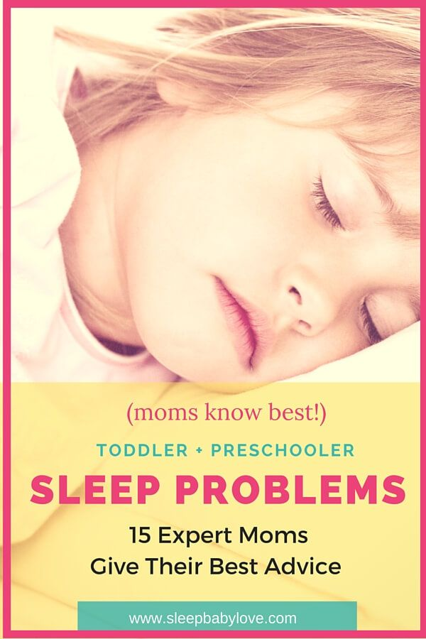 Prevent Or Survive Preschooler And Toddler Sleep Problems! Overcome Sleep Issues With These Tips! Click Here To Read 15 Expert Moms Give Their Best Sleep Advice!