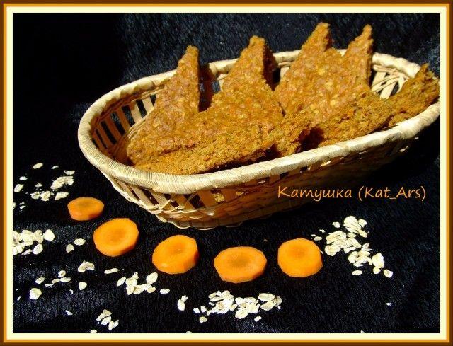 Морковное печенье