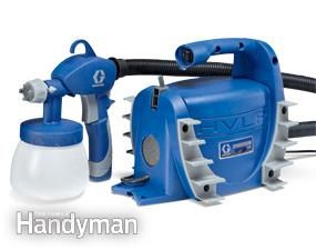 Paint Sprayer Reviews | The Family Handyman.. GRACO Spraystation 2900, $119 and great review