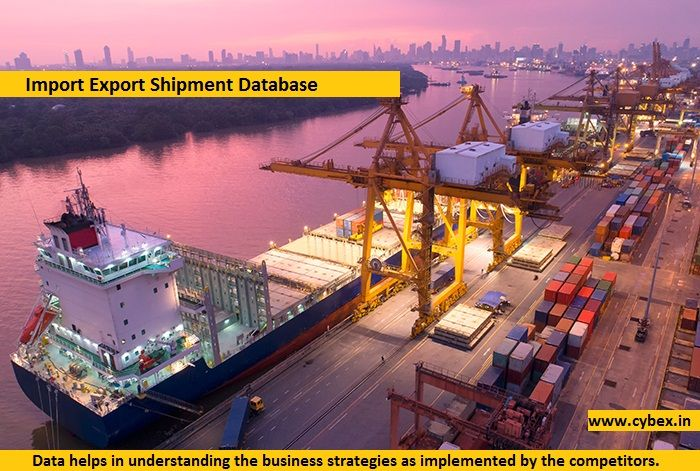 Get genuine import export shipment database products wise, HS code