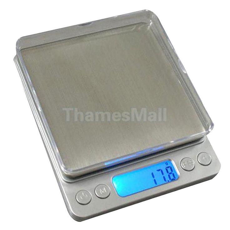 Digital Pocket Gram Scale Kitchen Weight Electronic Balance Scale 0.01G 500G