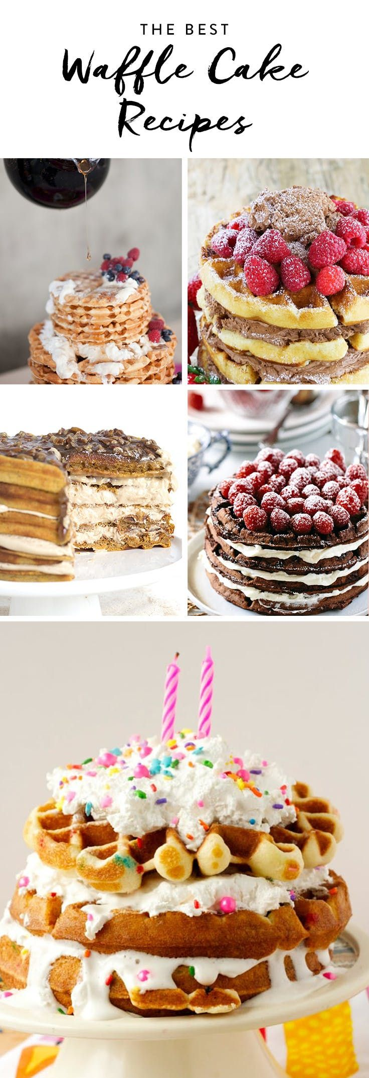 Waffle Cakes Are the Next Big Dessert Trend (and Surprisingly Easy to Make) via @PureWow