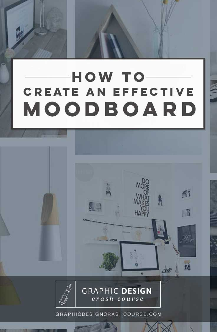 How to create a mood board for your next graphic design project! http:∕∕kinkeaddesigns.com∕how-to-create-your-own-mood-board∕ #moodboard #graphicdesign #tutorial #design