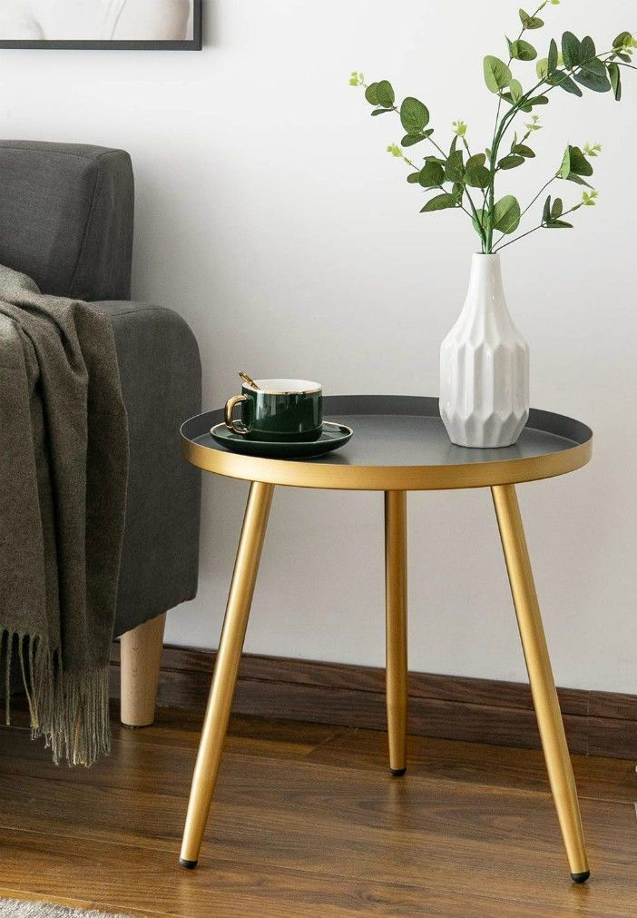 20 Gorgeous Side And Accent Table Ideas For Your Small Space Living In A Shoebox In 2020 Living Room Table Living Room Accent Tables Living Room Side Table