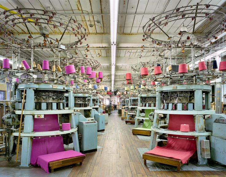 The nearly lost art of American textile manufacturing.