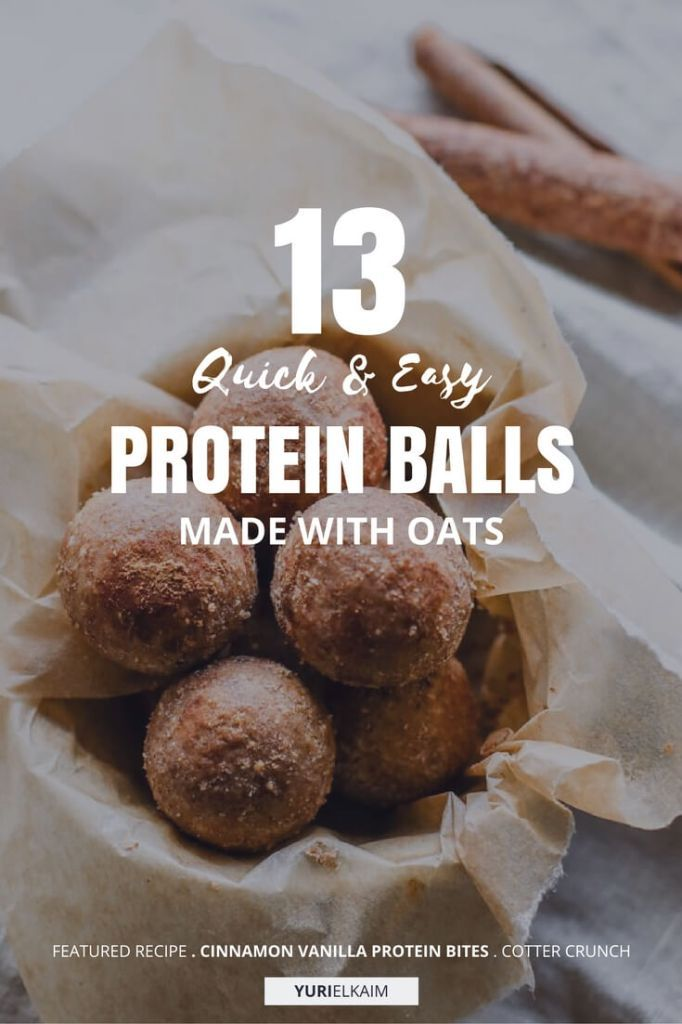 13 Quick and Easy Protein Balls Made with Oat