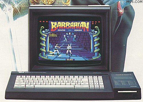 Amstrad CPC 6128. Mon frère et son 1er ordides heures il a joué à Barbarian