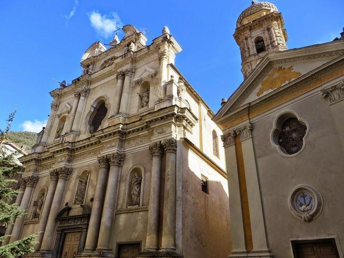 Badalucco (IM), Chiesa Parrocchiale di Santa Maria Assunta e San Giorgio e Oratorio di San Francesco
