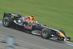 Klien (Red Bull) in practice at USGP 2005 - Red Bull Racing - Wikipedia