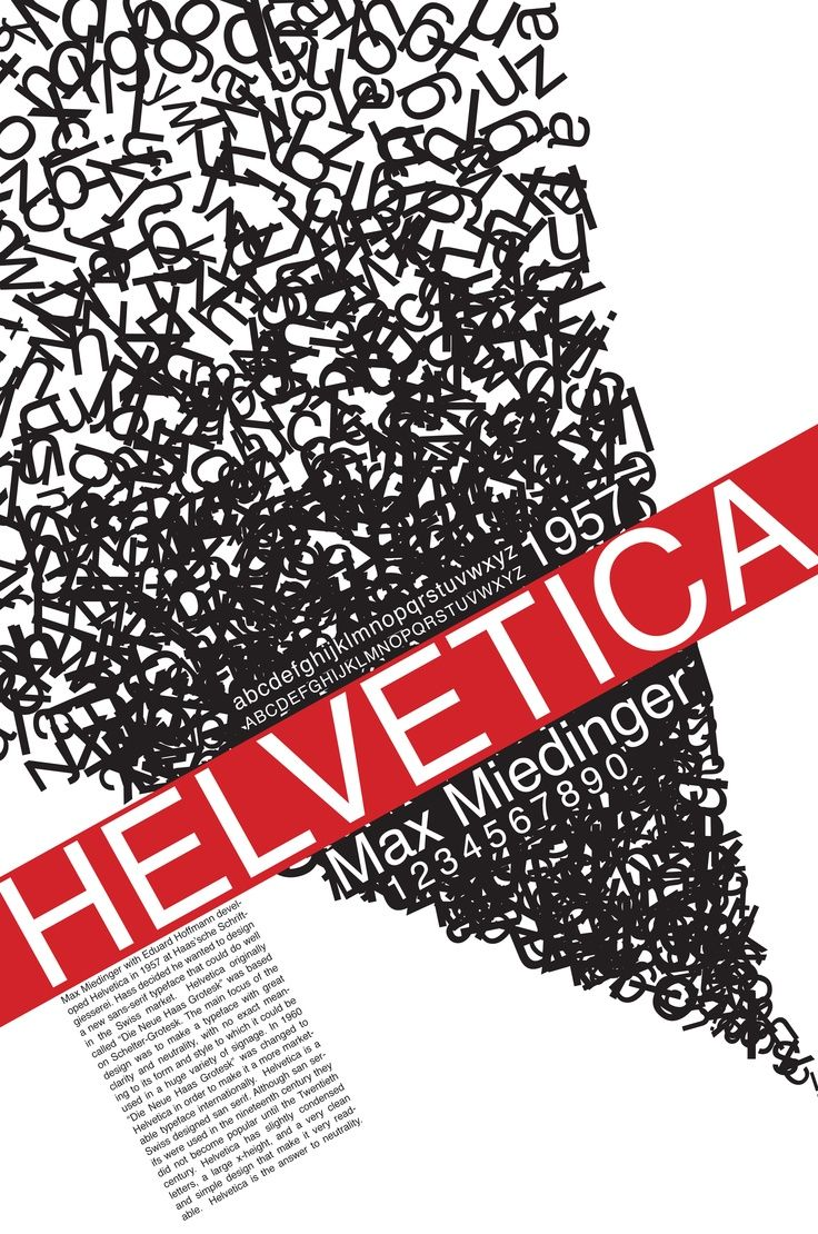 25 best Typography - Helvetica images on Pinterest | Typography ...
