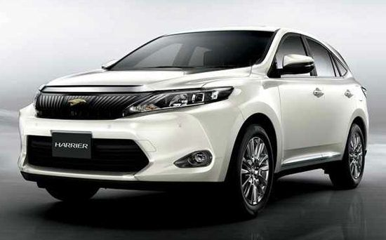 2017 Toyota Harrier Facelift