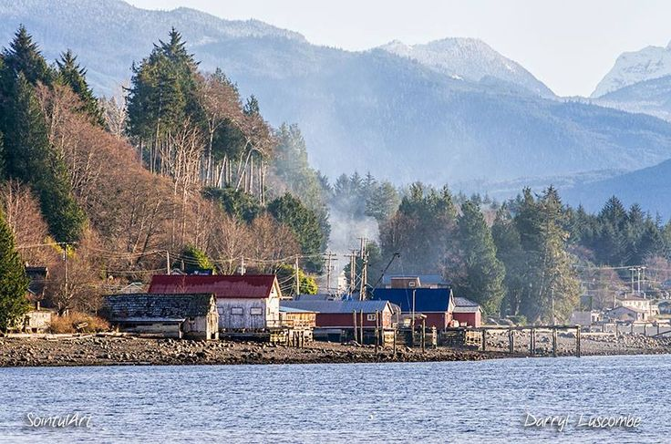 SointulArt · January 18 · The Sointula foreshore on a somewhat sunnier day than today... on Malcolm Island, a smaller island on the east side of Vancouver Island near its' north end.