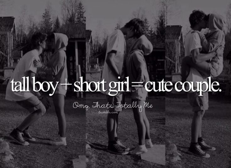 short girl and tall boy relationship tumblr