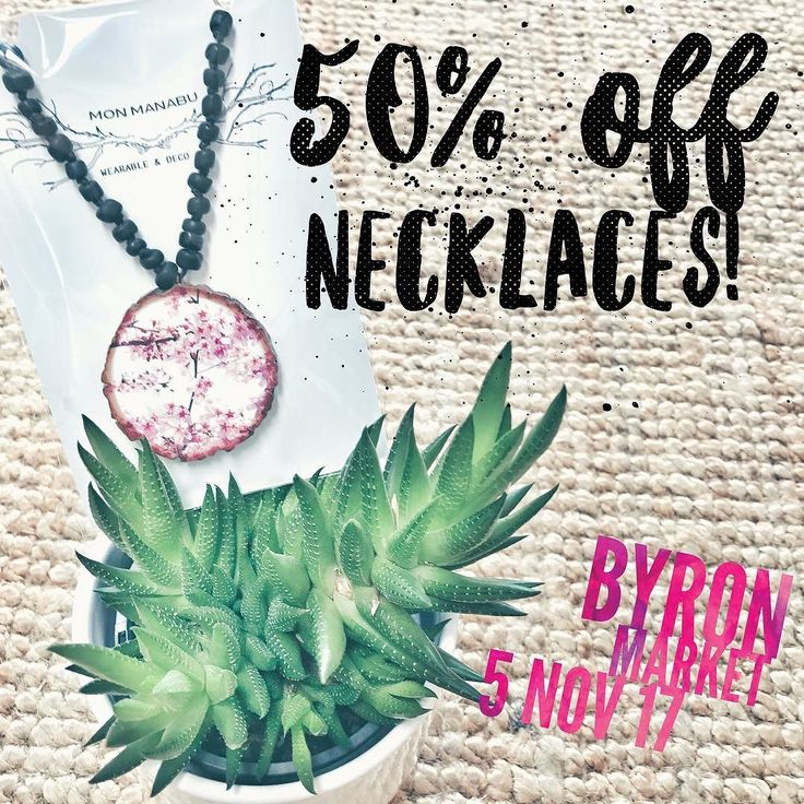 S.A.L.E  50% off  5 Nov  BYRON MARKET  Handmade NECKLACES  don't miss this opportunity get ready for Christmas   #monmanabu #byronbay #byronmarkets #sale #byronbaylife #readyforchristmas #handmadejewelry #woodnecklace #50%off