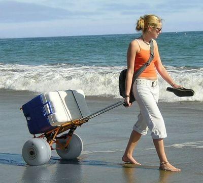 Wheeleez ® Beach Cart Folding | Beach Carts @ BeachStore.com